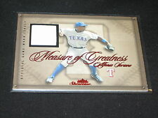 ALFONSO SORIANO GENUINE CERTIFIED AUTHENTIC BASEBALL GAME USED JERSEY CARD