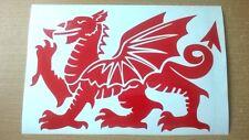 Gales Galés Dragón Vinilo Pegatina de coche portátil puerta Pared Arte Divertido grahpics Calcomanías