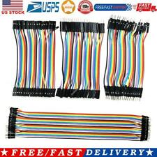 120pcs Color Ribbon Line Breadboard Dupont Cable Jump Jumper Wire