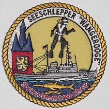 """Aufnäher Patch Seeschlepper """"Wangerooge"""" A1451 - Schwimmtaucher ........A5160"""