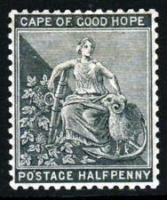 CAPE OF GOOD HOPE South Africa 1882 ½d. Grey-Black Wmk Crown CA SG 40a MINT