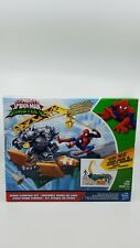 Marvel Spider-Man Rhino Rampage Play Set Ultimate Spider-Man vs Sinister 6 NEW