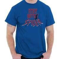 Itsy Bitsy Spider Funny Comic Book Hero Gift Short Sleeve T-Shirt Tees Tshirts