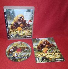Cabela's Dangerous Hunts 2009 (Sony PlayStation 3 PS3, 2008)