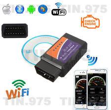 ELM327 OBDII OBD2 WiFi Wireless Car Diagnostic Scanner Tool Scan Code Reader Kit