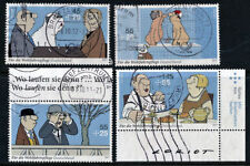 Gestempelte Briefmarken aus Deutschland (ab 1945) mit Kunst-Motiv als Satz