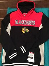 Chicago Blackhawks Hoodie Sweatshirt NWT Youth XL Size 18 Reebok Authentic Sale