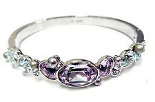 Retired Clay Pastel Crystals Bangle Medium Med Swarovski Jewelry Retired 5115380