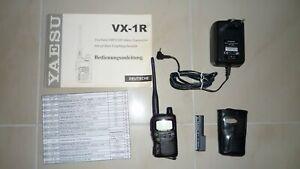 Yaesu VX-1R Zweiband-VHF/UHF Mikro Tranceiver