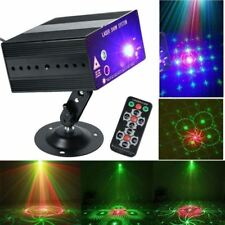 48 Pattern Laser Projector Stage Lights Mini LED RGB Lighting Party DJ KTV Disco