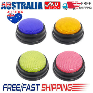 Recordable Talking Button LED Learning Resources Answer Buzzers Education Toys