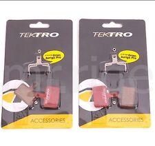 2 Pair Tektro Bike P20.11 Disc Brake Pads w/ Spring for Auriga/Orion/Volans NIB