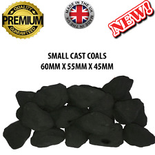 Coals(40) SC Gas Fires Imitation Ceramic Living Flame Loose Coal New This Year*