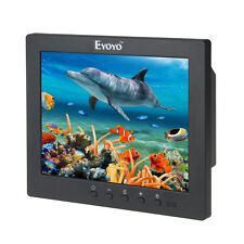 """8"""" inch LCD IPS Video Audio HDMI Monitor Ypbpr Type-C BNC for CCTV DVD Outdoors"""