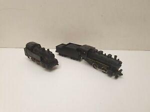 Lima lot de 2 locomotives a vapeur  en HO