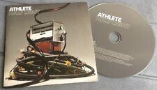 "ATHLETE HALF LIGHT 2005 UK 2-TRACK ""PROMO"" CD SINGLE"