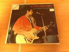 LP LUCIO BATTISTI PENSIERI E PAROLE ORL 8040  VG/EX  ITALY 1984 PS SLV