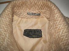 manteau en véritable laine de lama , made in FRANCE