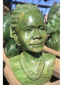 Shona Girl stone sculpture