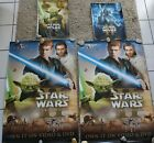 Star Wars Episode II Attack of the Clones Posters 40x27 DVD Release and 2 Vinyl