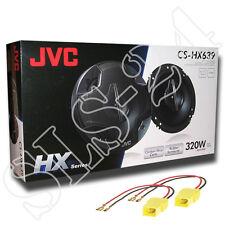 JVC CS-HX639 3-Wege Lautsprecher320W BOXEN + KFZ Adapterkabel Fiat Punto 188 Set