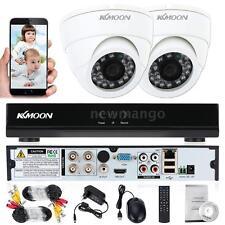 4CH 1080N HDMI DVR 800TVL Indoor CCTV Color Home Security Camera System US Stock
