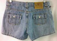 Polo Jeans Company Ralph Lauren Women's 6 Distressed Denim Casual Jean Shorts