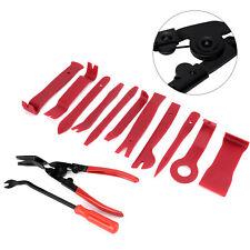 13 PCS Car Removal Pry Tool Plastic Car Radio Door Clip Panel Trim Dash Kit Set