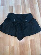 Bnwot New Mango Black Hotpants Ladies Shorts Size 12-14