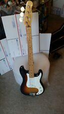 Fender Squier Bullet Bass early 1980s sunburst MIJ