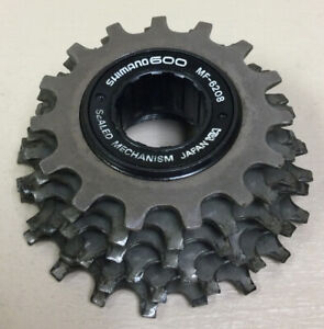 SHIMANO 600 6 SPEED FREEWHEEL COG 15-20T BRITISH 6208
