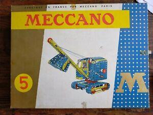 Boîte Meccano Vintage N°5