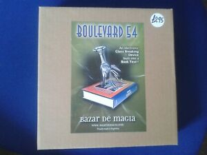 Boulevard 54 - (Electronic Glass Crasher but fitted in a book)  - Magic Trick UK