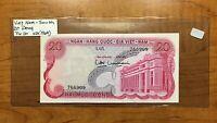 1969 South Vietnam 20 Dong Banknote, Pick# 20