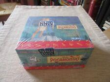 DISNEY'S POCAHONTAS unopened box Trading Cards