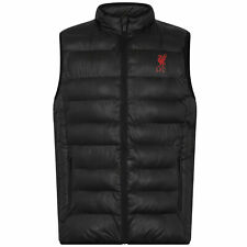 Liverpool FC Football Gilet Jacket Boys 10 11 Years Body Warmer Quilted Coat