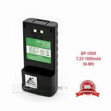1800mAh NiMH BP-186 BP-186H Battery for ICOM IC-M1 Marine Radio
