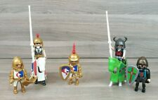 Playmobil Gold Knights Bundle with Horses & Accessories.