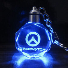 OW Overwatch Game Cool Crystal Hanging Pendant Colorful seven color allochroism