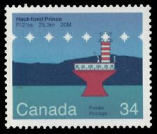 "CANADA 1065 - Haut-ford Prince Lighthouse ""F/HF Paper"" (pa86514)"