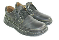 BORN Mok 8 Men's Black Leather Oxfords Walking Comfort Work Dress Shoes Size 9.5