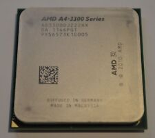 AMD a4-3300 Series ad33000jz22hx 2.5ghz Socket fm1 CPU Processor Only SALE