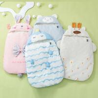Infant Newborn Baby Girls Boys Cartoon Warm Winter Sleeping Bag Blanket Swaddle
