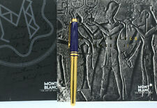 Montblanc Meisterstück Ramses II Lapis Vermeil Fountain Pen 4810 18k Nuevo En Caja