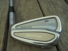 Mizuno MP-58 Forged Single 6 Iron Golf Club Right Hand Steel D Gold Shaft New De
