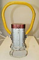 1930s - 40s JUSTRITE Electric Mining or Railroad Lamp Lantern