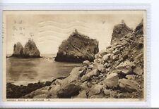 (Sd483-100) Needles Rocks & Lighthouse,  ISLE OF WIGHT 1930, Used G-VG