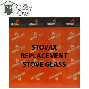 Stovax Replacement Stove Glass - Heat Resistant Glass For Stovax Stoves