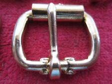 "8 American Mfg Co. 1"" Brass Finish Roller Buckles, Nos"