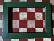 8 x 6 Country Wood Frame Green 4.5 x 6.5 Opening for Rustic Look Craft Projects
